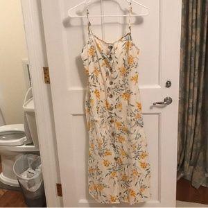 Asos Floral Midi Dress